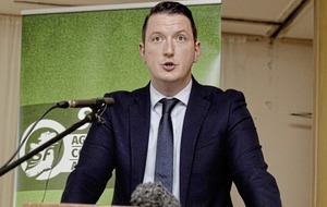 John Finucane attracts huge increase in Sinn Féin vote but not enough to oust Nigel Dodds in North Belfast