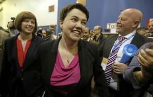 Scottish Tory leader Ruth Davidson distances herself from DUP in tweet