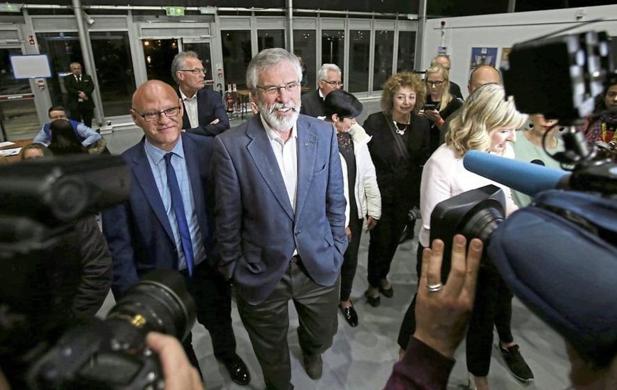 Adams: No danger whatsoever of ditching Sinn Féin abstentionist policy