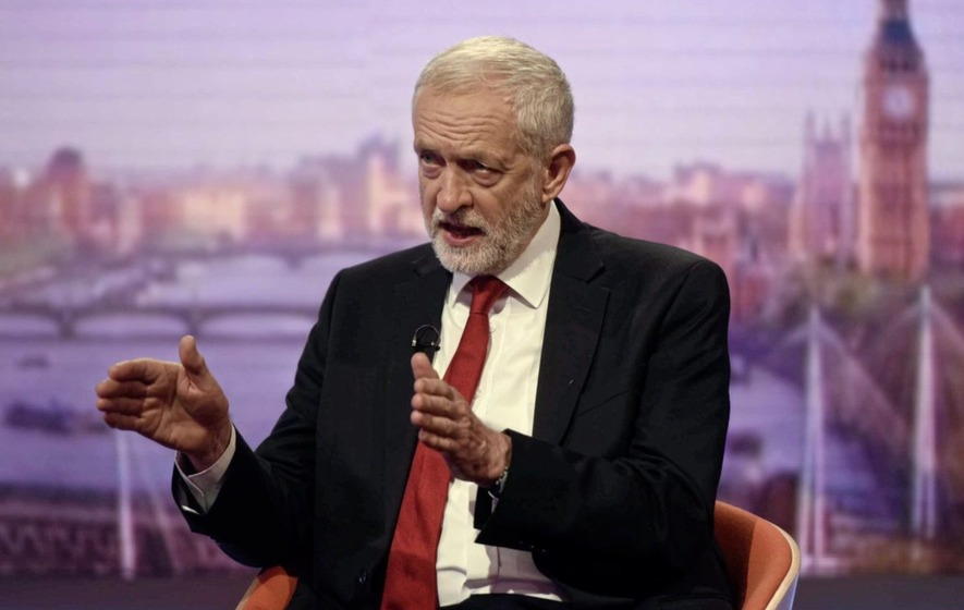 Corbyn vows to lead Britain out of EU, saying Labour is ready for another election