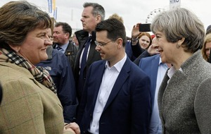 Courtship of DUP looks to have begun at Balmoral Show
