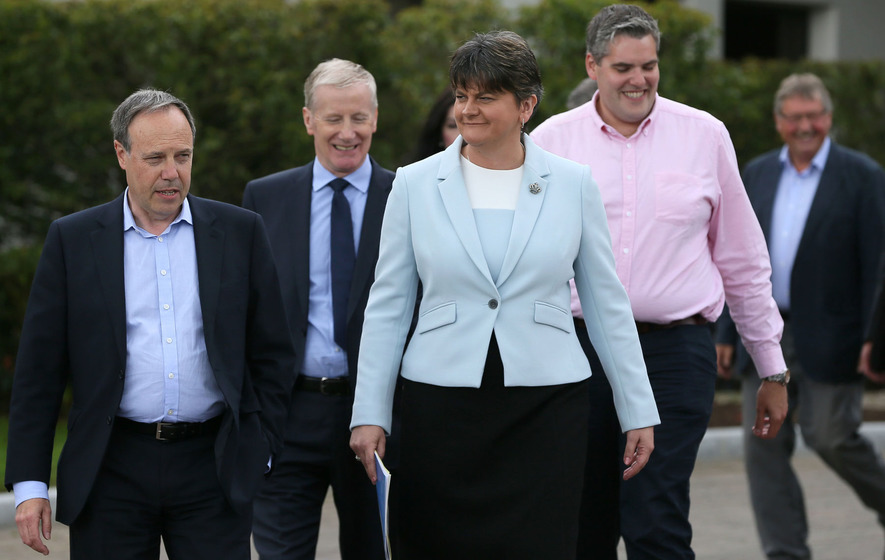 The Conservative/DUP coalition and how it all might work out