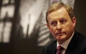 Enda Kenny warns Theresa May not to put Good Friday Agreement at risk