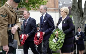 Politicians and church leaders at Armagh commemoration of Battle of Messines
