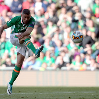 Jonathan Walters sits out Republic of Ireland training