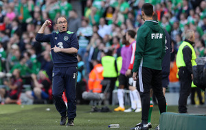 Martin O'Neill not happy with referee as Republic of Ireland draw World Cup qualifier with Austria at Aviva Stadium
