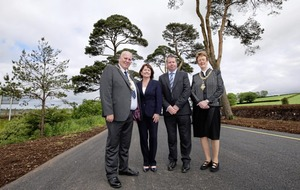 New £55million upgrade to the main road to the north coast is officially opened