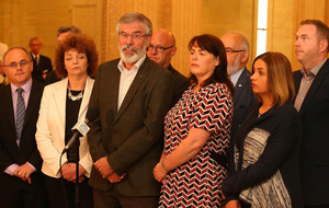 James Brokenshire not acceptable chairman for Stormont talks, Gerry Adams says