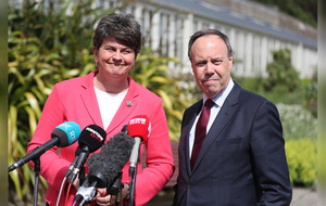 Restore devolution or face return of direct rule, Arlene Foster tells Sinn Féin