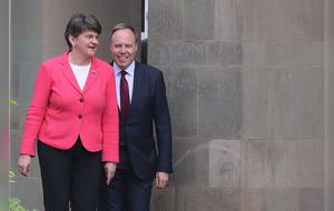 Restore devolution or face return of direct rule, Arlene Foster tells Sinn Féin