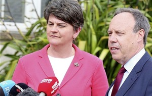 Arlene Foster in London to seal deal with Tories