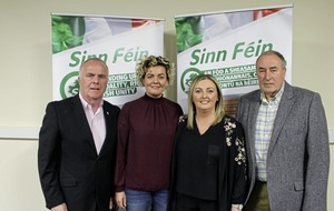 Sinn Féin co-opt new MLAs in Foyle and West Tyrone
