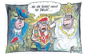 Date for Queens speech set but no pact struck yet between DUP and Tories