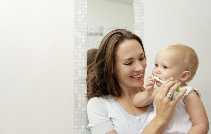 Ask the Dentist: Survey finds gap in parents' knowledge about babies' teeth