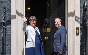 Cabinet briefed on plans for British government deal with DUP