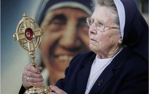 Relic of St Teresa of Calcutta visits Ballymurphy area where she was based as a nun in the 1970s