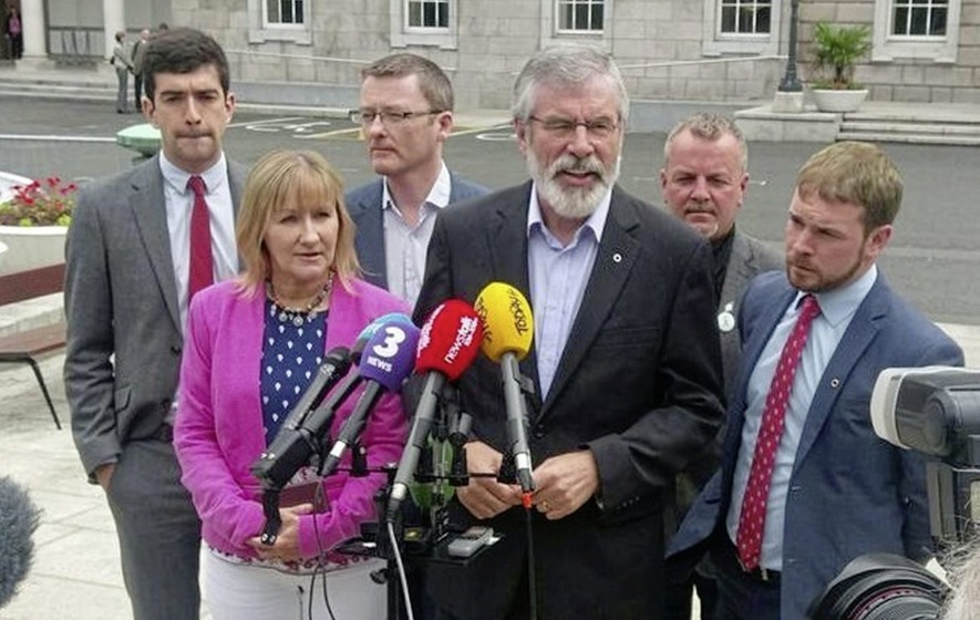 Gerry Adams says Sinn Féin still engaged with Stormont amid concern over lack of talks impetus
