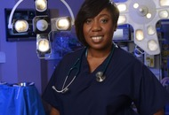 Teary Holby City fans bid farewell to surgeon Mo