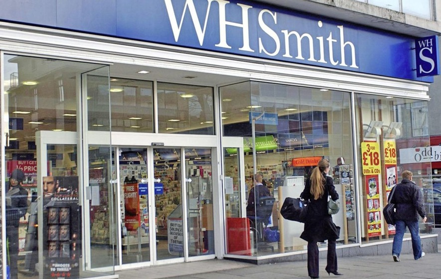British retailer WH Smith's sales rise 2%