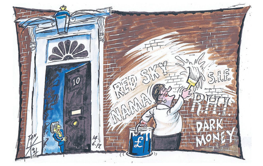The DUP through the eyes of political cartoonist Ian Knox