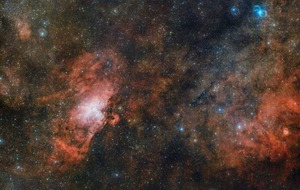ESO's spectacular image shows the Eagle Nebula in incredible detail