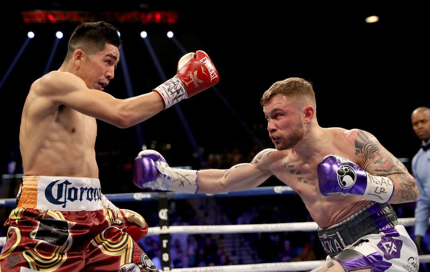 Frampton hopes next fight won't be last in Belfast