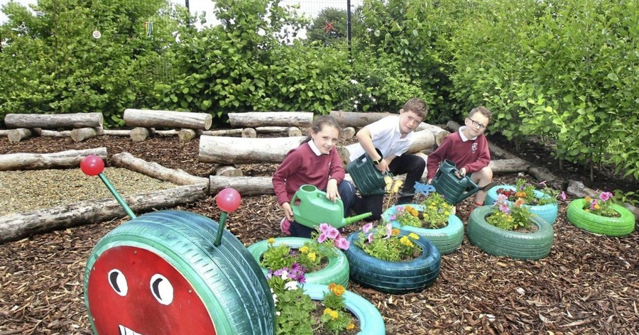 Pupils get back to mother nature with new sensory garden - The Irish ...