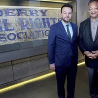 Video: Martin McGuinness's son and Jesse Jackson to open Derry museum