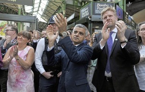 Minute's silence held as London market reopens for first time after terror attack