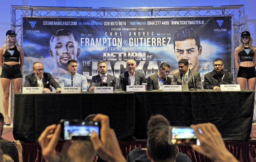 Carl Frampton: I won't be complacent against little-known Mexican Andres Gutierrez