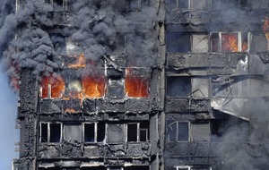 A mother's love as she saves her child from London tower block inferno