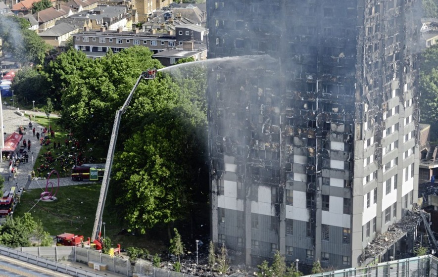 Housing Executive carries out tower block safety checks after London tragedy