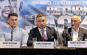 Carl Frampton hoping to bring knockout finish on Belfast homecoming