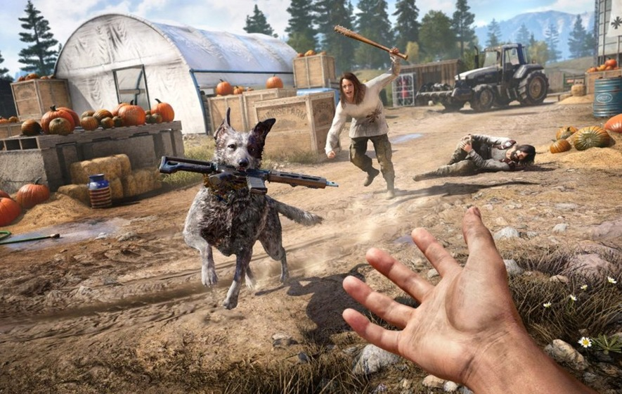 Hands-on preview: Far Cry 5 leaves all subtlety at the door