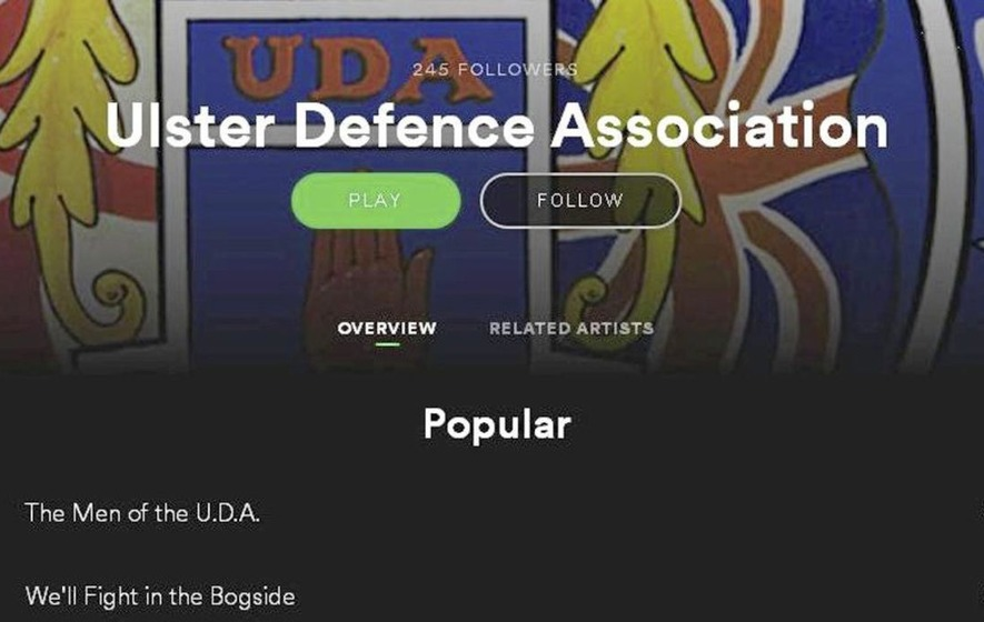 Top music streaming sites pull 'disgusting' UDA album