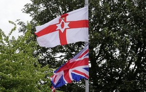 UVF flags put up in mixed area