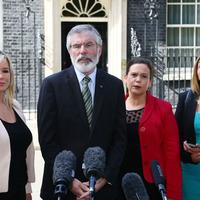 Northern Ireland's politicians meet Theresa May at Downing Street