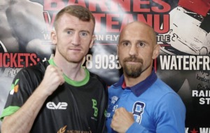 Paddy Barnes hopes to follow on from friend Ryan Burnett on another big Belfast fight night