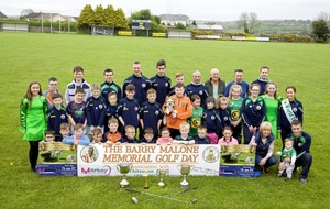 World champion Irish dancer Aine Malone among the stars to tee off in Barry Malone Memorial Golf Classic
