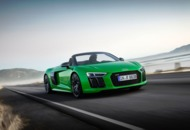 Audi R8 Spyder V10 Plus: Lean, mean, green machine (other colours available)
