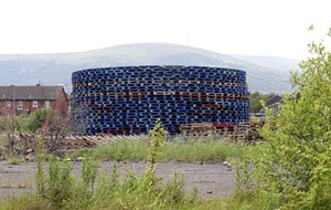 Belfast council to hand over stored bonfire pallets to firm claiming ownership