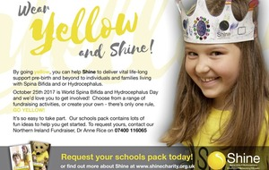 Schools urged to `shine' to raise awareness of spina bifida