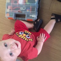 This genius dad replaced his baby's lunchbox with a toolbox and it's a game-changer