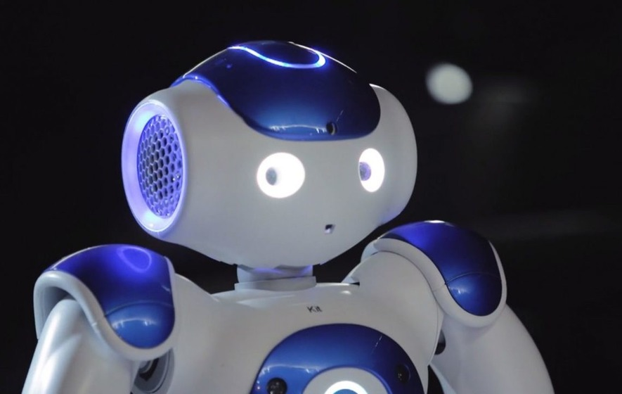 These robots took part in an opera but it sounds like singing lessons are required