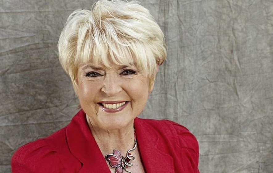 Broadcaster Gloria Hunniford honoured for her work with cancer charities