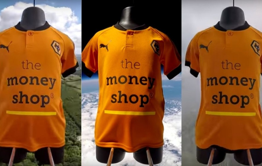 Wolves' incredibly literal kit launch didn't go entirely to plan