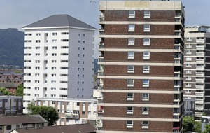 Housing body unsure if it used similar cladding to Grenfell Tower