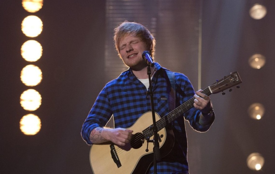 Ed Sheeran awarded MBE as he prepares for Glastonbury headline performance