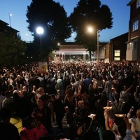 Hundreds gather at candlelit vigil for Grenfell Tower victims