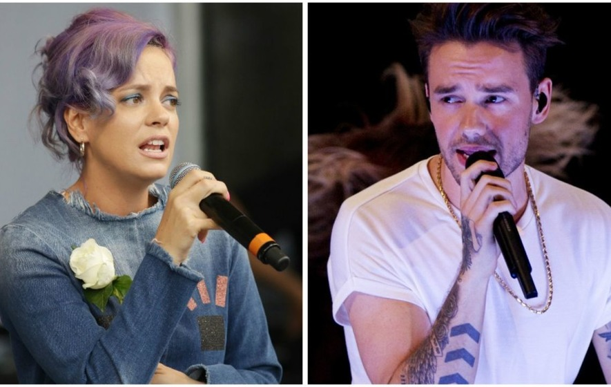 'Liam Payne, Lily Allen and Craig David' for Simon Cowell's Grenfell Tower charity single